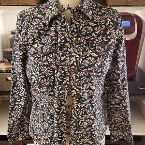 Paisley print jacket
